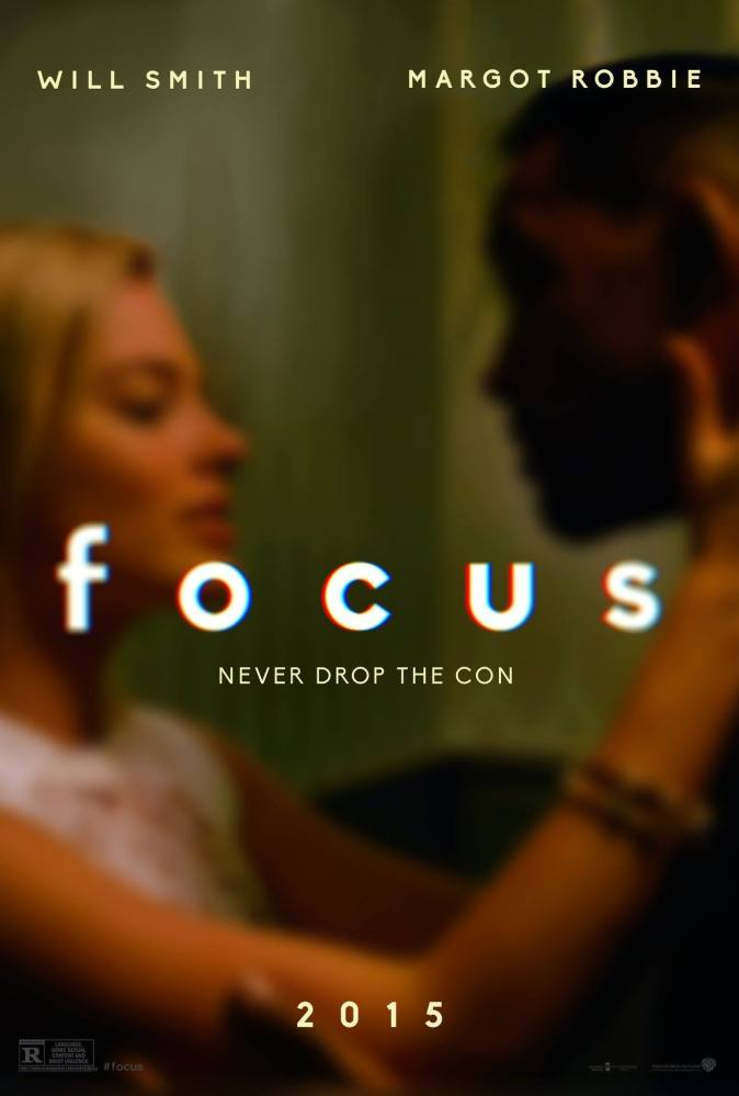 focus movie review, movie review, movies, reviews, rating